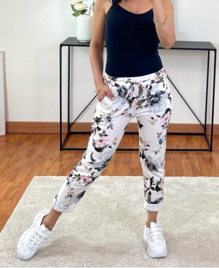 PACK OF 2 PAIRS OF PANTS JOGG PRINTED 2021-19