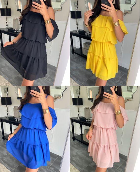 PACK 4 DRESSES 8526