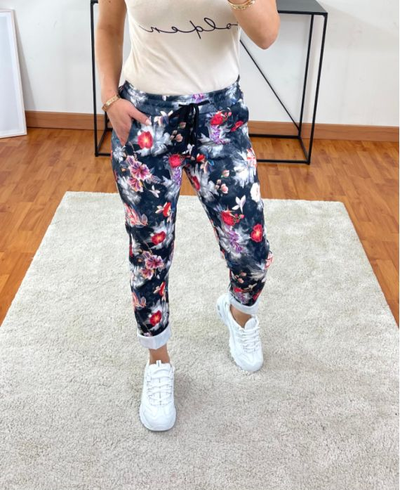 PACK OF 2 PAIRS OF PANTS PRINTS 9302I1