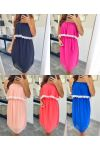 PACK 5 DRESSES SHOULDERS DENUDEES 7863