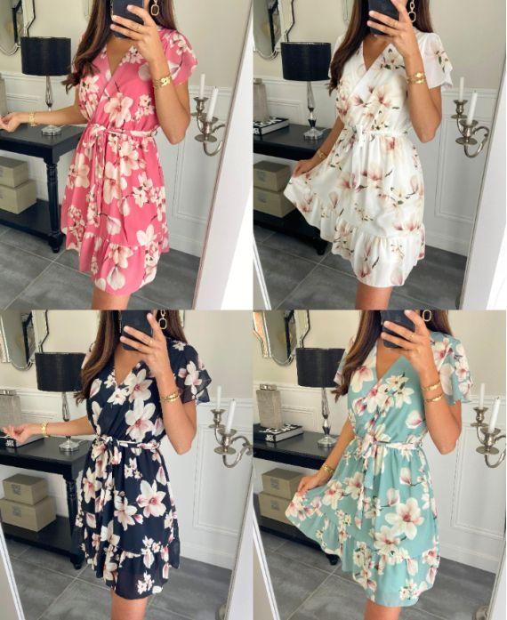 PACK 4 FLOWERED DRESSES 9423