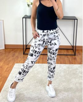 PACK OF 2 PAIRS OF PANTS JOGG PRINTED 2021-05