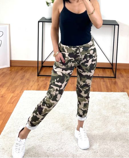 PACK OF 2 PAIRS OF PANTS JOGG PRINTED 2021-2