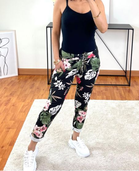 PACK OF 2 PAIRS OF PANTS JOGG PRINTED 2021-12