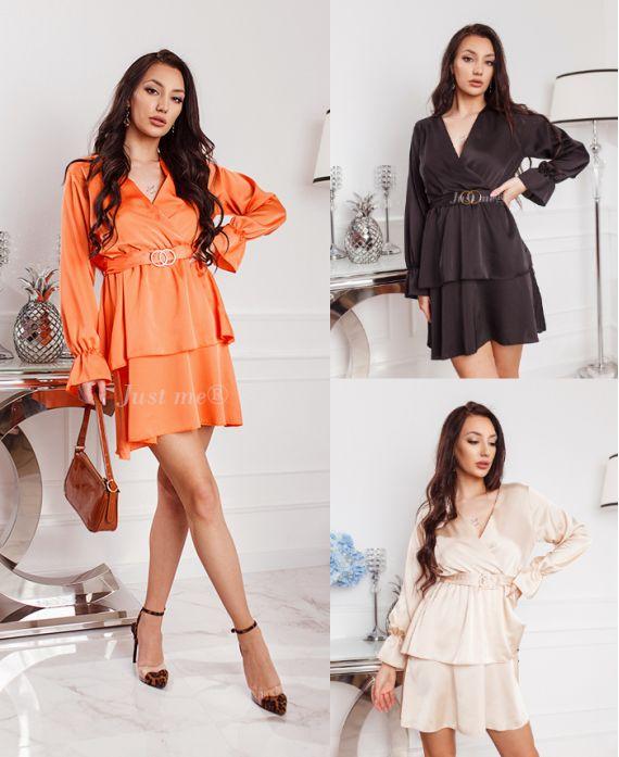 PACK 4 DRESSES, SATINEE 9945