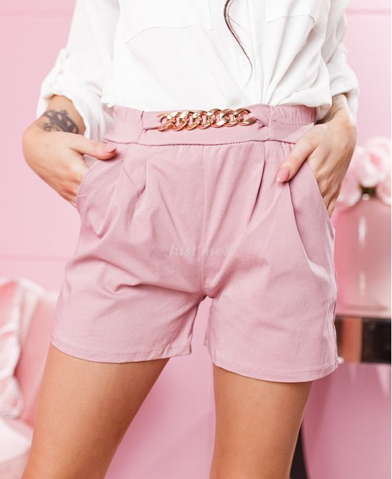 PACK 4 SHORTS STRING S-M-L-XL PINK 7741