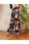 PACK OF 2 PAIRS OF PANTS PALAZZO 7743I7