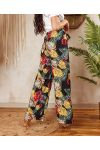 PACK OF 2 PAIRS OF PANTS PALAZZO 7743I5