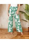 PACK OF 2 PAIRS OF PANTS PALAZZO 7743I3