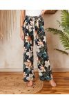 PACK OF 2 PAIRS OF PANTS PALAZZO 7743I1