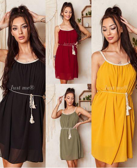 PACK 4 DRESSES CLOAKING 9537