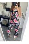 PACK OF 4 FLORAL JUMPSUITS 7806