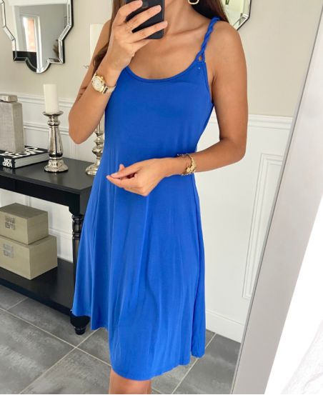 STRAPLESS GOWN NOUEES 2880 ROYAL BLUE