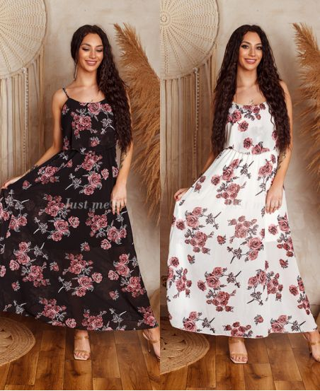 PACK OF 2 DRESSES LONG LAYERING 8899I1