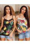 PACK OF 2 PRINTED CAMISOLE TOPS 8720I3