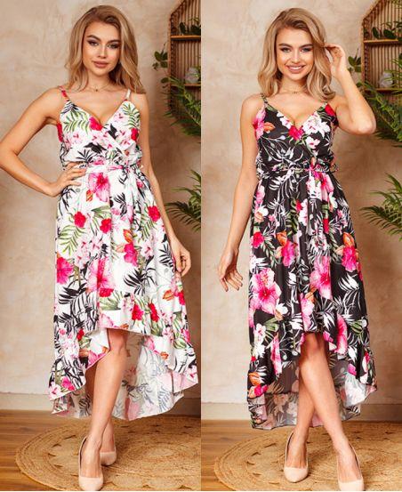 PACK 2 STRAPLESS DRESSES 1192I1