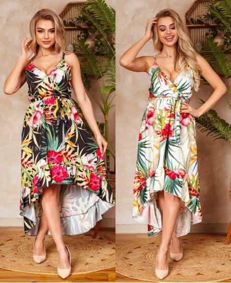 PACK 2 STRAPLESS DRESSES 1192I2