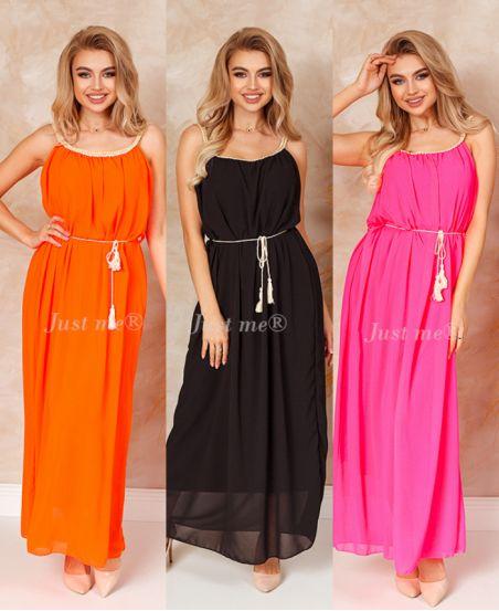 PACK 3 LONG DRESSES 8829
