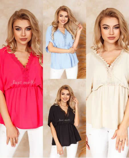 PACK OF 4 LACE TUNICS 6630