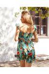 PACK OF 4 FLORAL DRESSES 6609