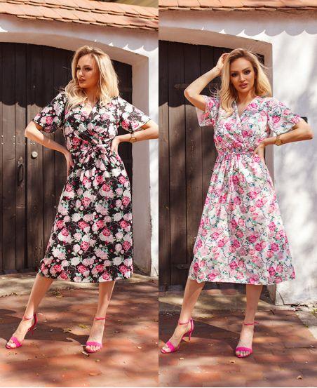 PACK 2 DRESSES FLOWER 8925