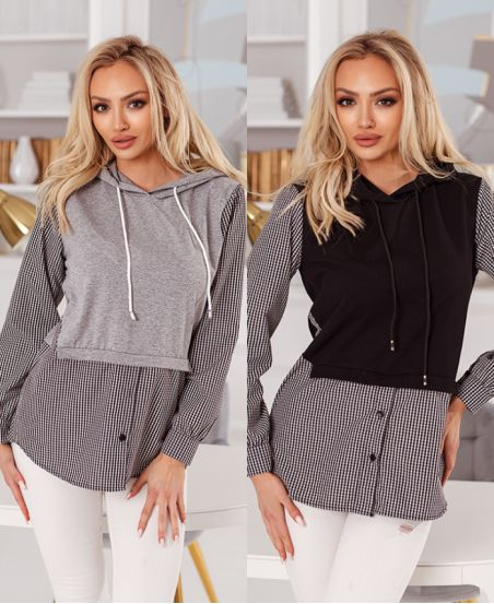 PACK 2 SWEATERS EFFECT 2-IN-1 6548