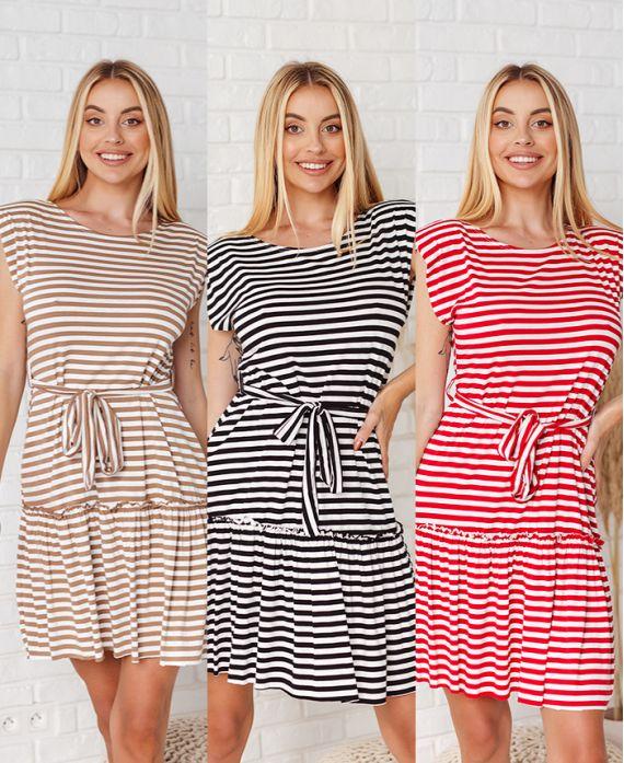 PACK 3 STRIPED DRESSES 21159