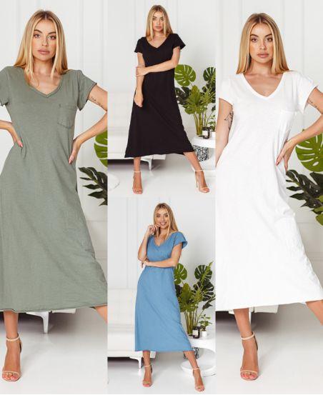 PACK 4 LONG DRESSES 6786