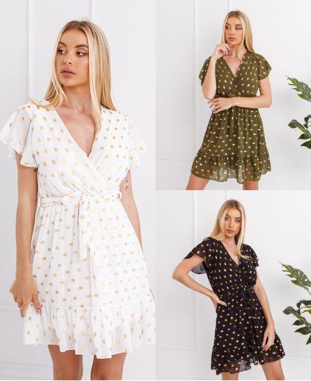 PACK 3 DRESSES 9423