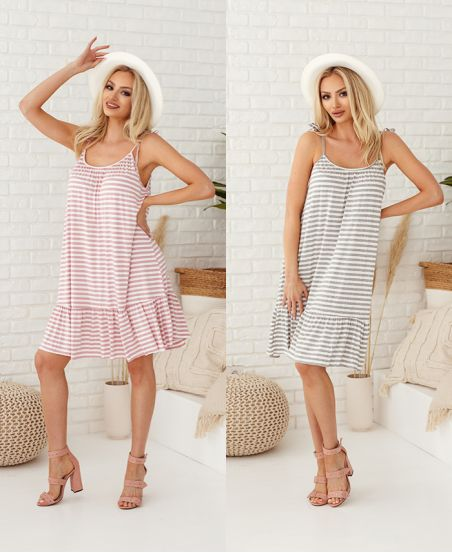 PACK 2 DRESSES RAYEE HAS SHOULDER STRAPS 2951