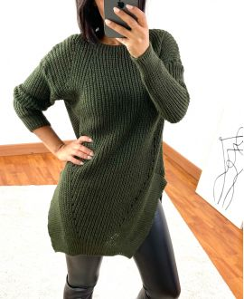 PULLOVER LONG 953 MILITARY GREEN