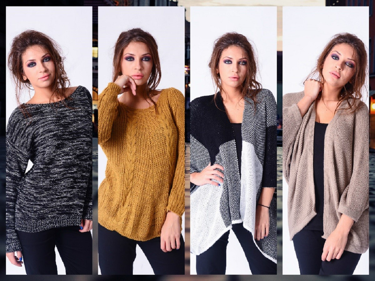 wholesaler fashion pullover and cardigan italy